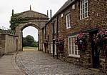 Castle Lane: Cottages mit üppigem Blumenschmuck - Oakham