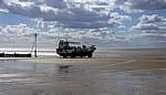 Hunstanton Beach (Strand): The Wash Monster - Hunstanton
