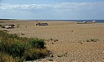 Kiesstrand mit Booten - Cley next the Sea