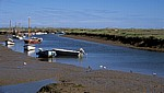 Blakeney Harbour. - Blakeney