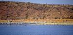 Fähre Kariba - Mlibizi: Blick auf das Ufer - Lake Kariba