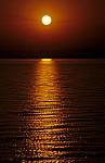 Fähre Kariba - Mlibizi: Sonnenuntergang - Lake Kariba