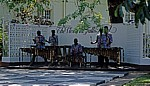 Victoria Falls Hotel: Marimba-Spieler - Victoria Falls