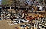 Handwerkermarkt: Shona-Skulpturen und Holzschnitzereien - Victoria Falls