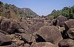 Felsen im Maleme River (Fluß) - Matopos National Park