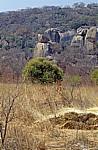 Felsformation: Balancierender Felsen - Matopos National Park