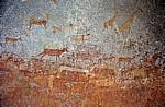 Nswatugi Cave: Felsmalereien (Bushmen paintings) - Matopos National Park