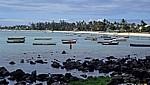 Blick über die Bucht - Pereybere