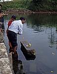 Ganga Talao: Darbringung von Opfern - Grand Bassin