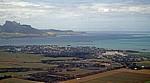 Flug Mauritius - Harare: Blick auf Mahébourg - Grand Port