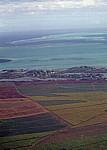 Flug Mauritius - Harare: Blick auf Felder  - Grand Port
