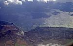 Flug Mauritius - Harare: Blick auf die Küste - Sofala Province