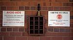 Chishawasha: Silveira House - HIV- / AIDS-Plakate - Harare