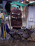 Borrowdale: Flohmarkt - Holzschnitzereien - Harare