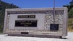 Osborne Dam (Erdschüttungsstaudamm): Informationstafel - Manicaland Province
