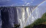 Eastern Cataract mitt Regenbogen - Victoriafälle (Zambia)