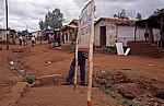 Kleine Straße mit Geschäften - Lilongwe