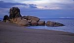 Livingstonia Beach: Felsformation - Senga Bay