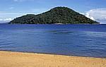 Blick auf Thumbi West Island - Cape MacLear