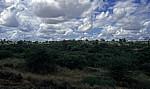 Busfahrt Blantyre - Harare: Tete-Korridor - Typische Landschaft - Provinz Tete