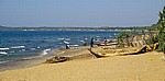 Menschen am Strand des Malawisees - Nkhotakota