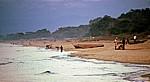 Strandleben am Morgen - Kande Beach