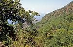 Lukwe EcoCamp: Blick in Richtung Malawisee - Landschaft  - Livingstonia