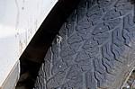 Reifenpanne: Nagel im Reifen - Poroto-Berge