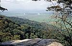Blick über die Sanje Falls (Wasserfälle) ins Hinterland - Udzungwa Mountains National Park