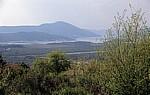 Blick auf die Boka Kotorska (Bucht von Kotor) - Lovcen-Gebirge