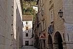 Stari Grad (Altstadt): Gasse - Kotor