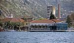 Blick über die Boka Kotorska (Bucht von Kotor) auf die Neustadt - Kotor