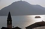 Blick auf die Boka Kotorska (Bucht von Kotor) - Perast