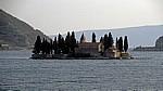 Boka Kotorska: Insel Sveti Dorde (Heiliger Georg) - Bucht von Kotor