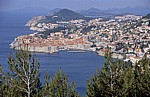 Blick auf Dubrovnik - Gespanschaft Dubrovnik-Neretva