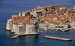 Blick auf Dubrovnik: Stari Grad (Altstadt) - Gespanschaft Dubrovnik-Neretva
