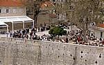 Stari Grad (Altstadt): Blick von der Stadtmauer - Alltagsleben - Dubrovnik