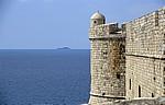 Stari Grad (Altstadt): Bastion des Hl. Petrus - Dubrovnik