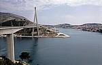 Most dr. Franja Tudmana (Franjo-Tudman-Brücke, Dubrovnik-Brücke, Schrägseilbrücke) - Gespanschaft Dubrovnik-Neretva