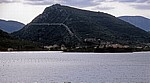 Blick auf die Halbinsel Peljesac: Mali Ston mit der Festungsmauer - Gespanschaft Dubrovnik-Neretva