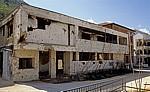 Kriegsbeschädigtes Haus - Mostar