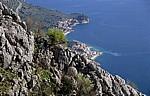 Blick auf die Makarska Riviera: Drasnice - Gespanschaft Split-Dalmatien
