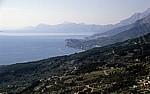 Blick auf die Makarska Riviera - Gespanschaft Split-Dalmatien