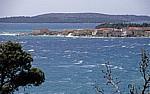Blick auf Brodarica - Gespanschaft Sibenik-Knin