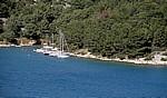 Morinje-Bucht: Segelboote - Gespanschaft Sibenik-Knin