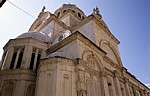 Stari Grad (Altstadt): Katedrala svetog Jakova (Kathedrale des Heiligen Jakob)  - Sibenik
