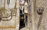 Stari Grad (Altstadt): Gasse - Sibenik
