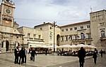 Stari Grad (Altstadt): Narodni trg u Zadru (Volksplatz) - Zadar