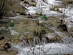 Donja jezera (Untere Seen): Novakovica brod - Versuchsstationen (wissenschaftliches Experiment) - Nationalpark Plitvicer Seen