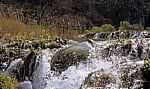 Donja jezera (Untere Seen): Novakovica brod - Wasserfälle - Nationalpark Plitvicer Seen